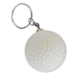 Golf Ball Foam Keyrings
