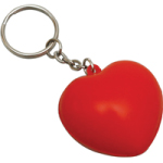 Heart Foam Keyrings