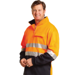 Hi Vis Two Tone Cotton Fleecy Sweat