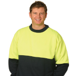 High Visibility 2 Tone Crew Neck Windcheaters