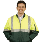 High Visibility Flying Jackets with 3M Reflective Tapes