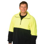 High Visibility Half Zip Pullovers