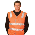 High Visibility Safety Vests with Reflective Tapes