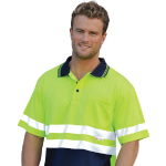 High Visibility Short Sleeves Polos with 3M Tapes