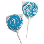 Medium Blue Candy Lollipops