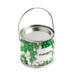 Medium PVC Bucket Filled with Chewy Fruits 400G