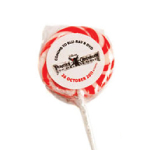 Medium Red Candy Lollipops