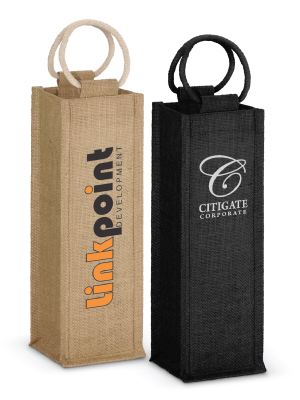 Napoli Jute Wine Carriers
