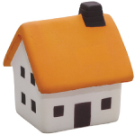 Orange Roof House Stress Toys