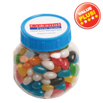 Plastic Jar Filled with Jelly Beans 170G
