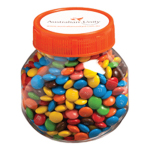 Plastic Jar Filled with MM