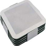 Prestige Stainless Steel Coaster Sets