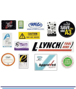 Large Vinyl Weatherproof Stickers - Full Colour