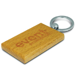Rectangular Artisan Key Ring