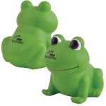 Ribbit PVC Bath Frogs