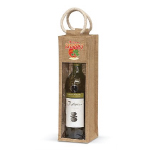 Serena Jute Wine Carriers