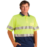 Short Sleeves Safety Polos