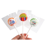 Small Branded Lollipops