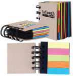 Spiral Notebook with Noteflags