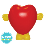 Standing Heart Stress Toys