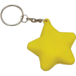 Star Foam Keyrings