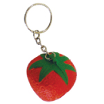 Strawberry Foam Keyrings