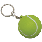 Tennis Ball Foam Keyrings