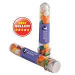 Test Tube Filled with Chewy Fruits 40G