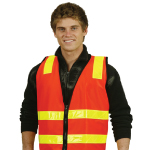 VIC Road Style Safety Vests