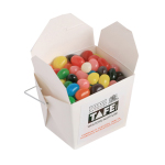 White Cardboard Noodle Box with Jelly Beans 100G