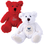 Zoe Snowy Plush Teddy Bears