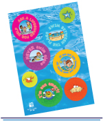 A4 Full Colour Sticker Sheets
