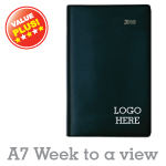 Hardcover Diary A7 - week to a view