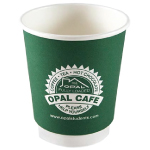 8 oz Double Wall Paper Coffee Cups Factory Direct