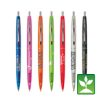 Bic Ecolutions Clear Clic Pen