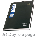 Company Diary A4 - Day to page