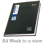 Company Diary A4 - Week to a view