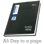 Corporate Diary A5 - Day to a page