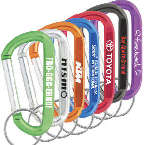 80mm Carabiner Keyrings