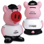 Percy Pig Standing Coin Bank