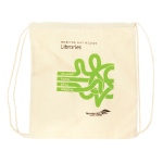 Sturdy Drawstring Library Bag