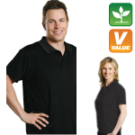 Embroidered Bamboo Polo Shirt