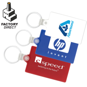 Factory Direct Rectangle Key Chains