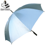 Factory Direct Silver Wentworth Golf Fibreplus Umbrellas
