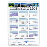 Promotional Magnetic Tab Calendars Large