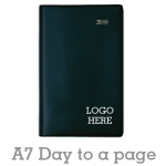 Hardcover Diary A7 - Day to a page