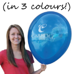 Printed Balloon - Jumbo 3 colour print