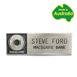 Name Badge - Metal