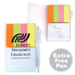 Pocket Buddy Notepads Noteflags Pens