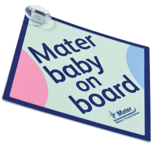 Baby on Board Car Window Hangers